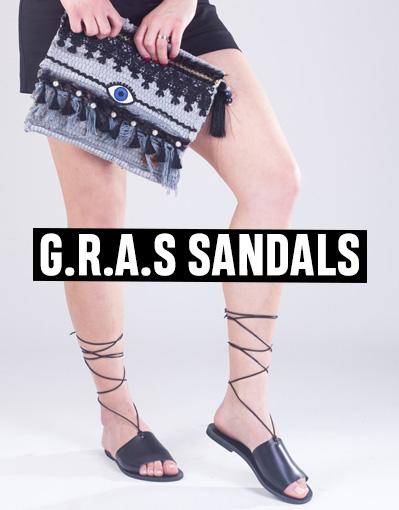G.R.A.S. Sandals